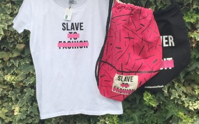 WIN a fair trade Tshirt, and Duffle Bag from Slave to Fashion