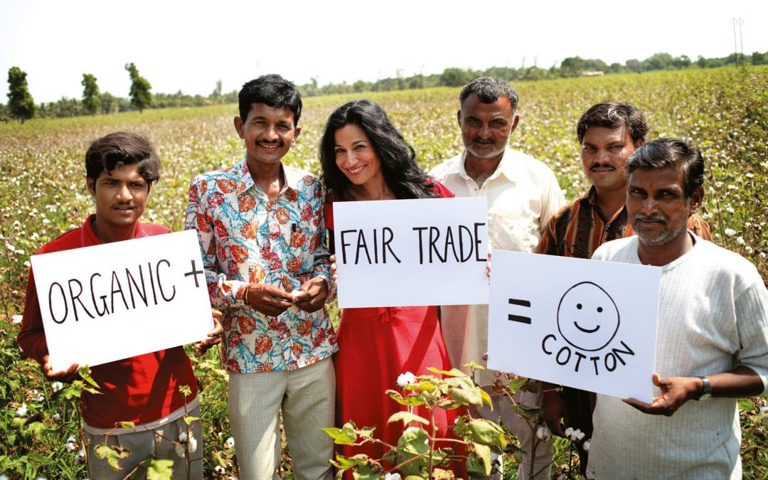 Safia Minney, Fairtrade guest speaker at Oxford University's Wadham College