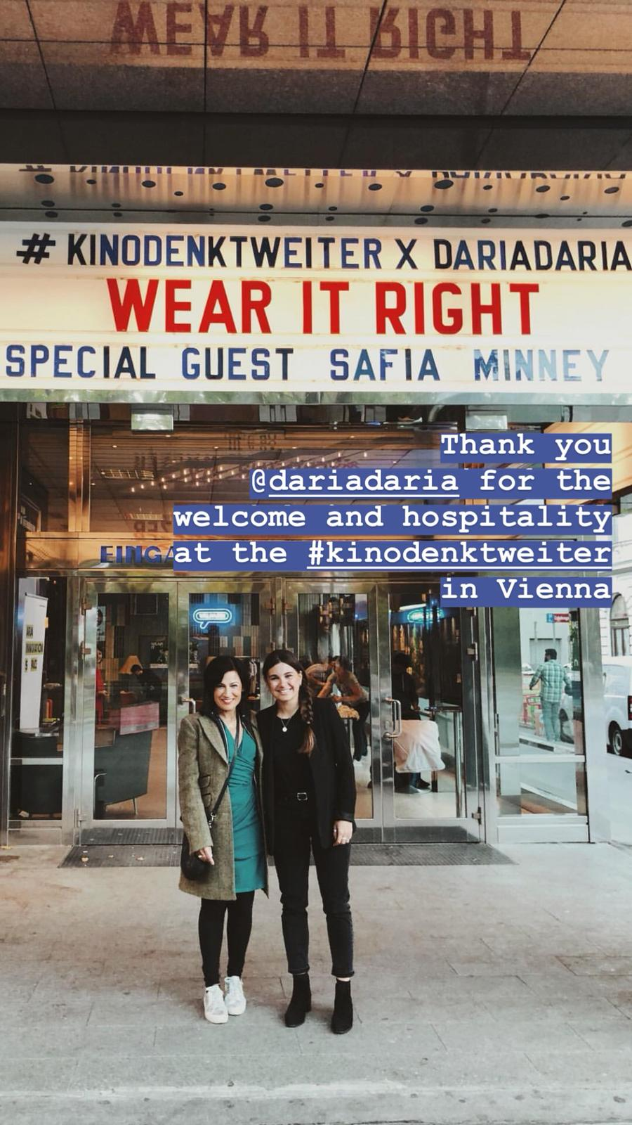Safia Minney and DariaDaria