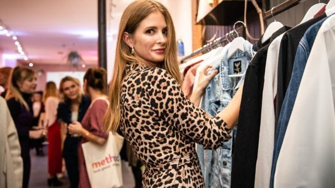 Millie Mackintosh at Slow Fashion event