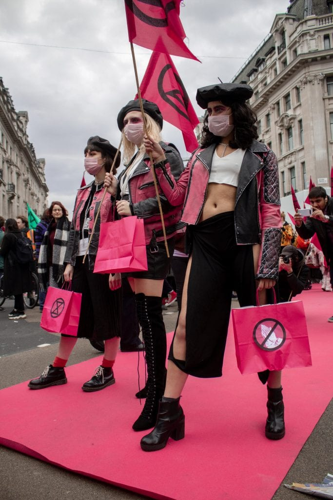 Extinction Rebellion Photo Credit Sarah Sun @SpiderGirl