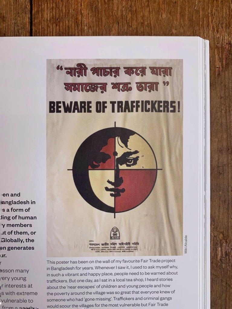 beware of traffickers